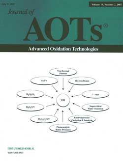 Journal of Advanced Oxidation Technologies